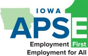 Iowa APSE logo.
