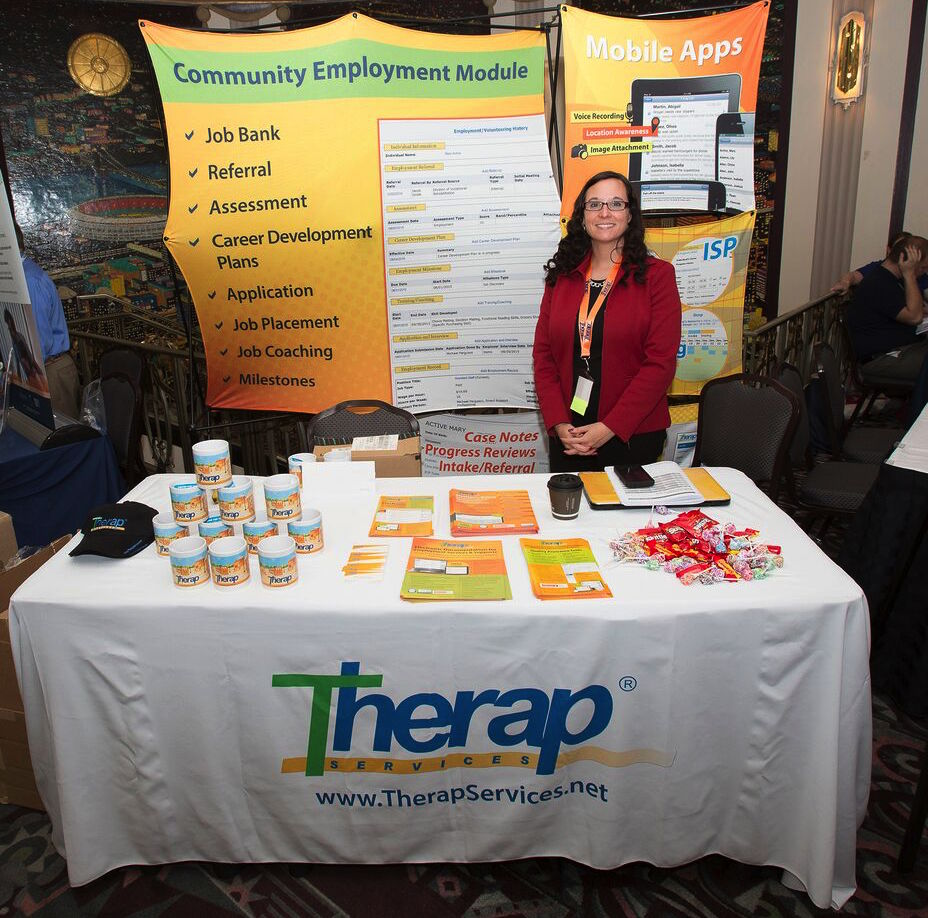Therap Exhibit Table 2016 Conference