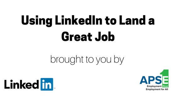 Using LinkedIn to land a great job