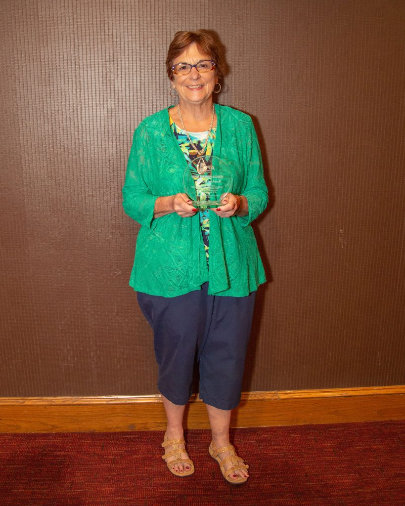 SueAnn Morrow, Rebecca McDonald Award