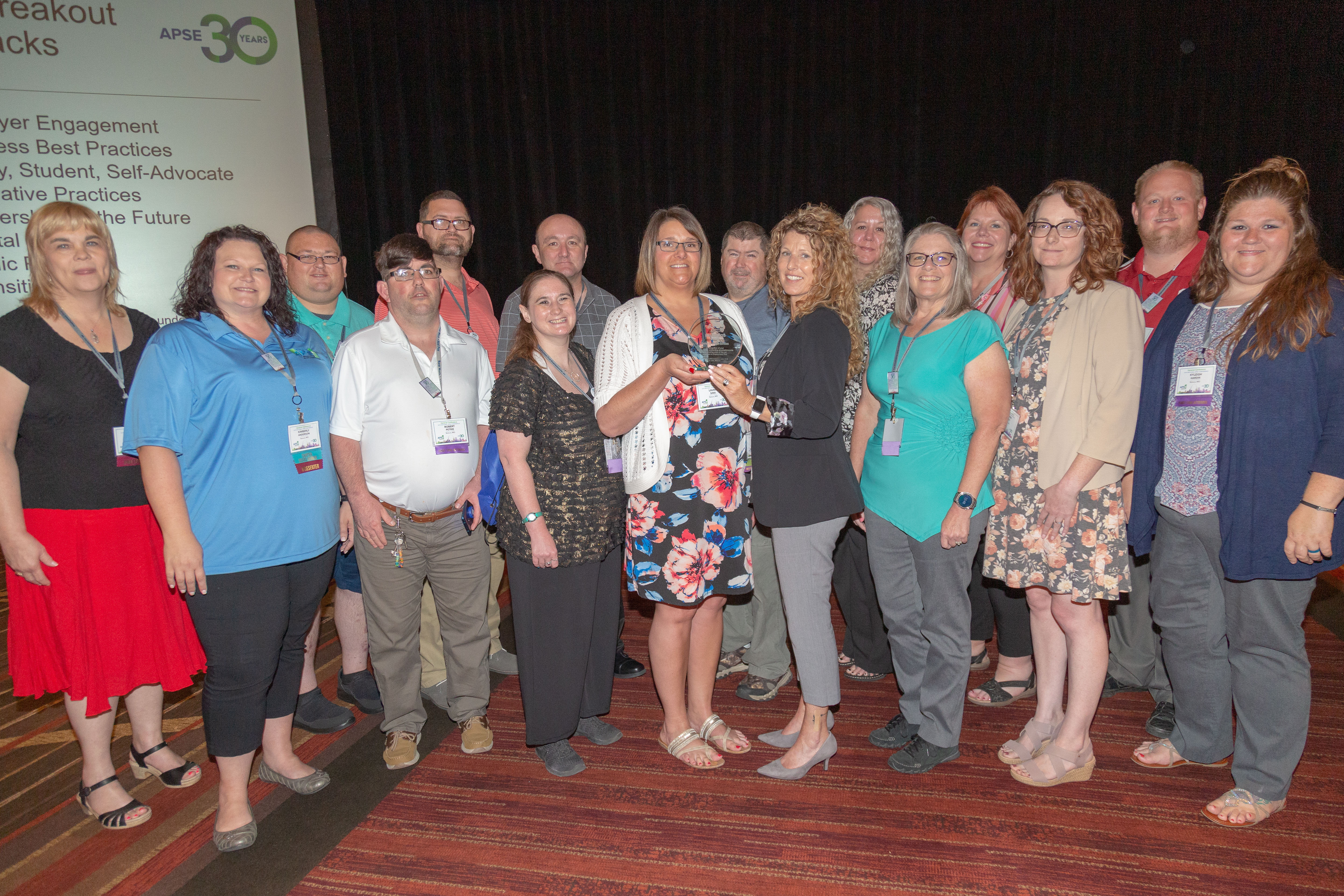 Center for Human Services of Sedalia, MO – Best Practice Award