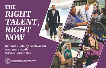 National Disability Awareness Month