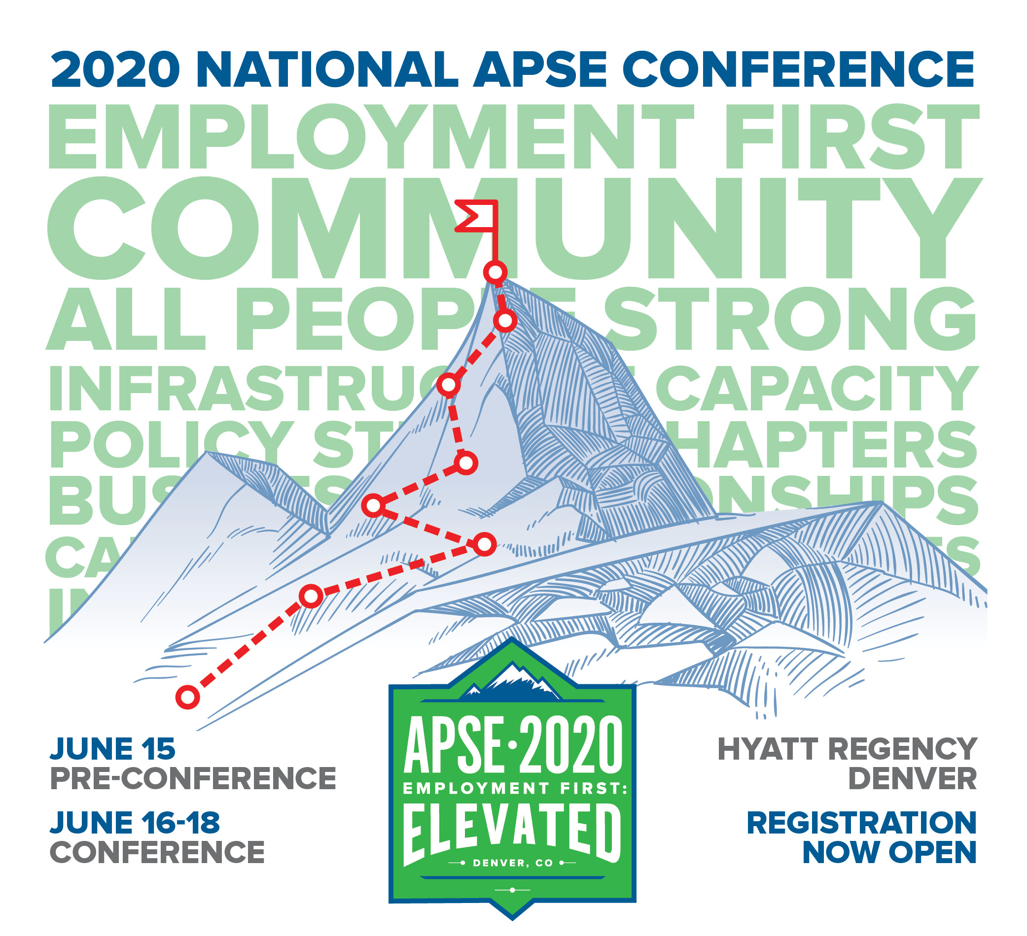 Image of 2020 National APSE conference graphic