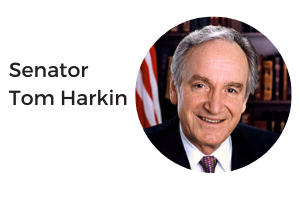 Senator Tom Harkin.