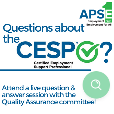 Questions about the CESP? Attend a live question & answer session.