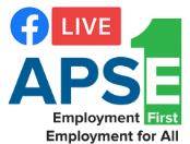 APSE Facebook Live logo. CLick for link.