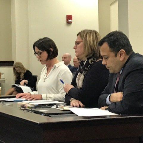 Katie Wolf Whaley testifying.